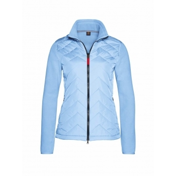 Bogner Mara Womens Fleece Mid-layer in Pale Blue