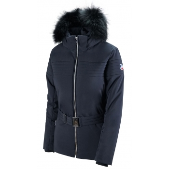 Fusalp Naja Fur II Womens Jacket in Navy