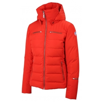 Fusalp Izia Quilted Womens Jacket in Red