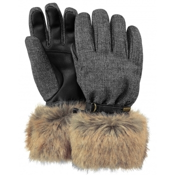Barts Empire Womens Ski Glove in Brown