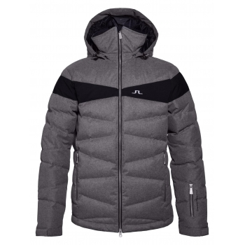 J. Lindeberg J.Lindeberg Crillon Down Mens Ski Jacket in Grey Melange