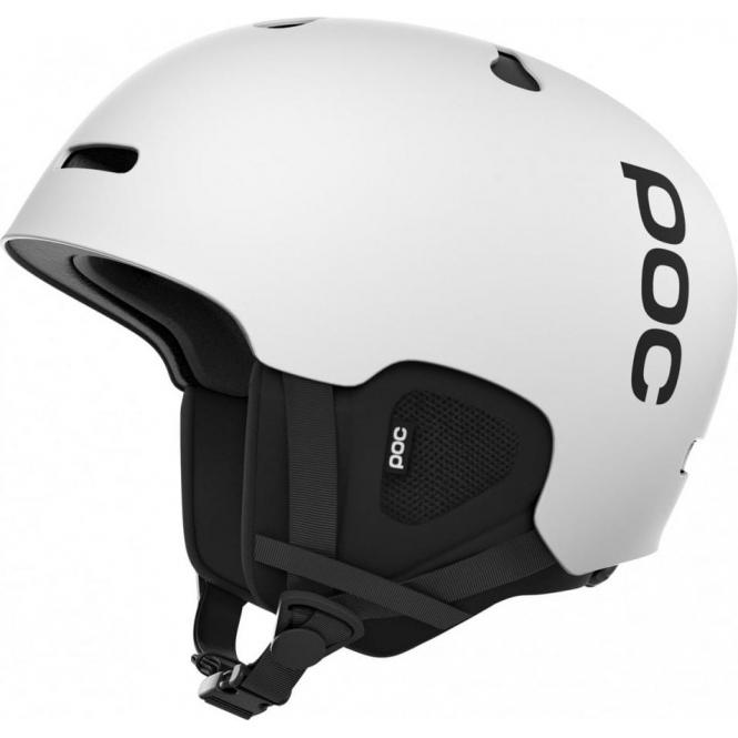 POC Auric Cut Ski Helmet in Matte White