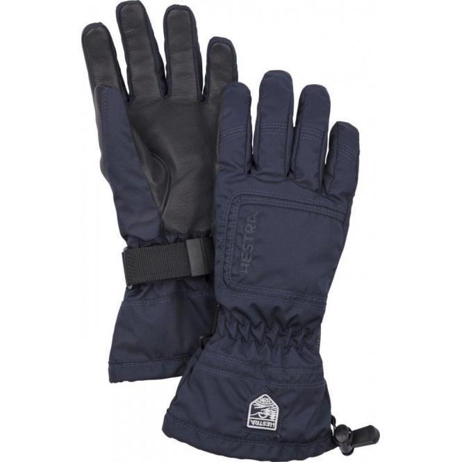 HESTRA SKI GLOVES Hestra Czone Powder Female Ski Glove in Navy