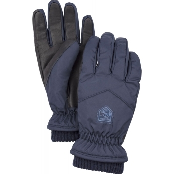 Hestra Ski Gloves Hestra Womens Rib Knit Ski Glove in Navy
