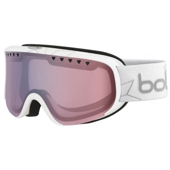 Bolle Scarlett Ski Goggle in Shiny White Edelweiss with Modulator 2.0 Light Control