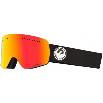 Dragon Alliance Dragon NFXs Ski Goggle in Black with LumaLens Red Ion and LL Ros