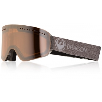 Dragon Alliance Dragon NFX Ski Goggle in Mill with LumaLens Silver Ion and Dark