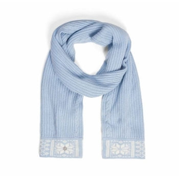 Bogner Camila Womens Scarf in Pale Blue