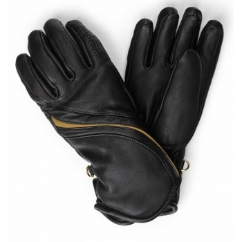 Bogner Mona Womens Ski Glove in Black