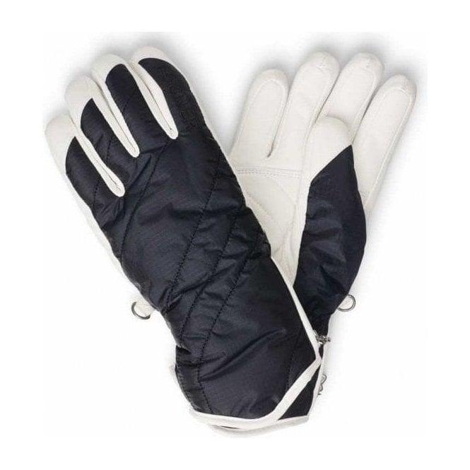 BOGNER Benita Womens Ski Glove in Navy And White