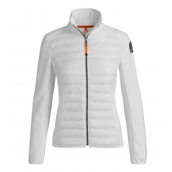 Parajumpers Olivia Womens Midlayer Top In Off White