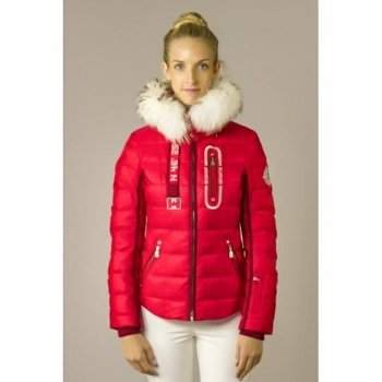 Bogner Kaley D Womens Ski Jacket in Red
