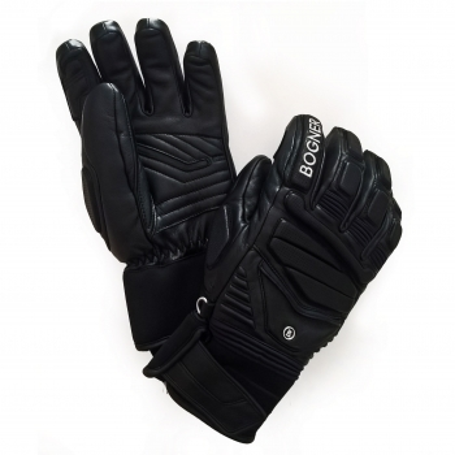 BOGNER Siro Mens Ski Glove in Black