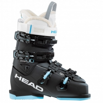 Head Ski Head Dream 100 W Womens Ski Boot in Black and Turquoise