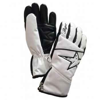 Bogner Hetty R-Tex XT Boys Ski Glove in White