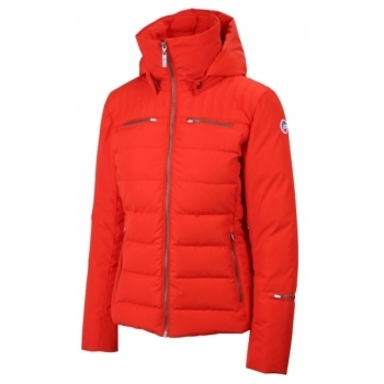 Fusalp Izia Quilted Womens Jacket Red