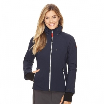 Bogner Sierra Womens Ski Jacket in Navy