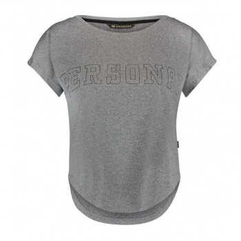 Goldbergh Chase T-Shirt in Light Grey Melange