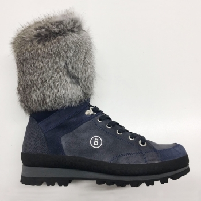 BOGNER St Anton Womens Snow Boot In Dark Blue