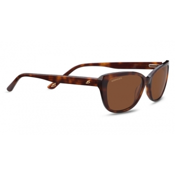 Serengeti Sophia Shiny Caramel Tortoise With Polarized Drivers