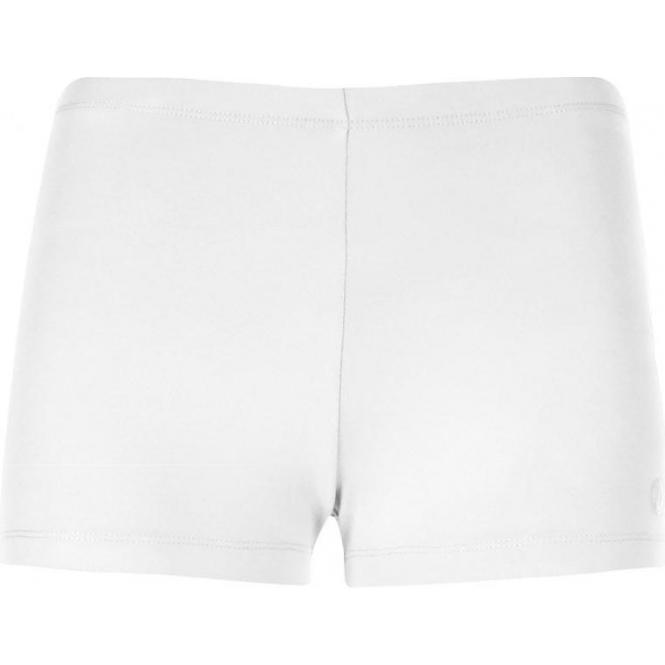 POIVRE BLANC Womens Tennis Shorts in White