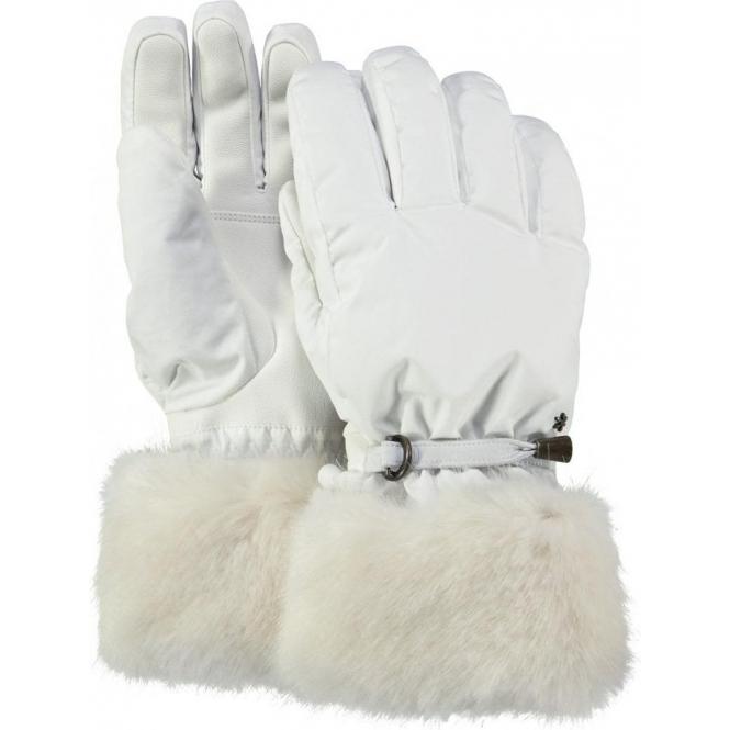 BARTS Empire Womens Ski Glove in White