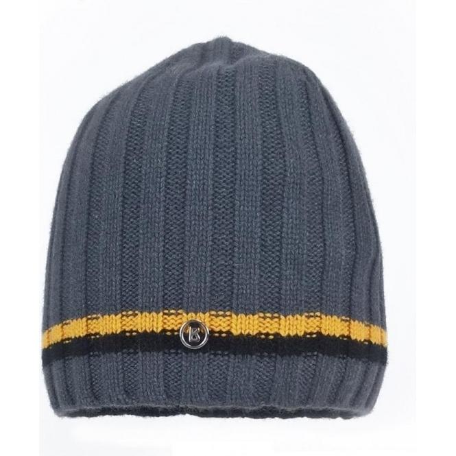 BOGNER Peer Mens Ski Hat in Dark Grey