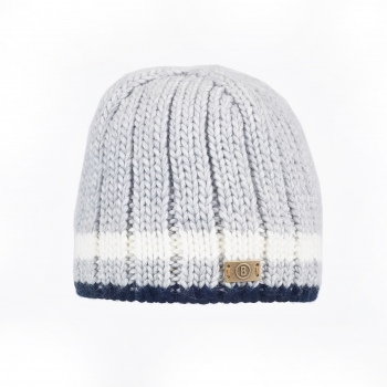 Bogner Vincent Mens Ski Hat in Light Grey