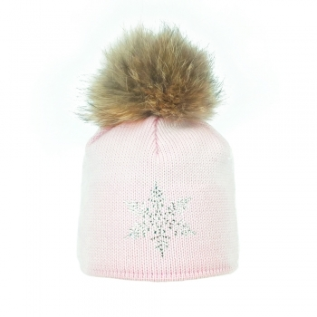Steffner Sky Womens Ski Hat In Light Pink