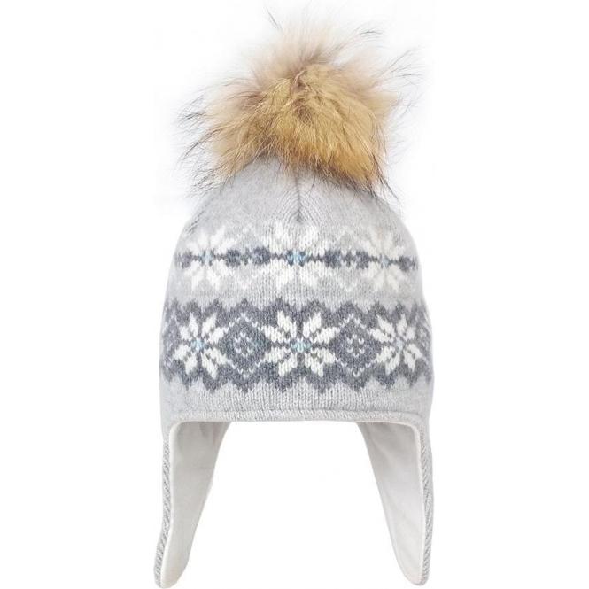 STEFFNER Malmo Inka Womens Ski Hat In Grey