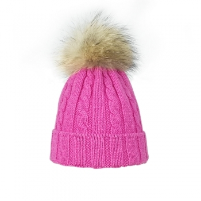 STEFFNER Lucy Womens Ski Hat In Pink