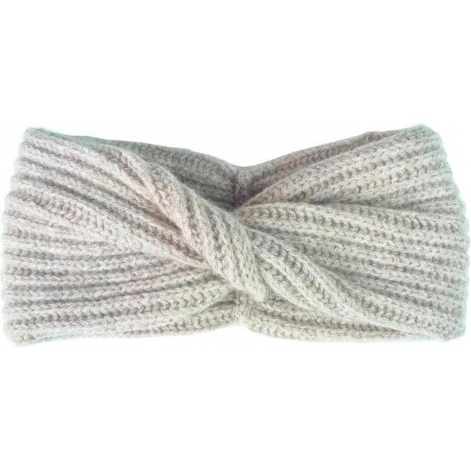 STEFFNER Elle Headband with Twist In Beige