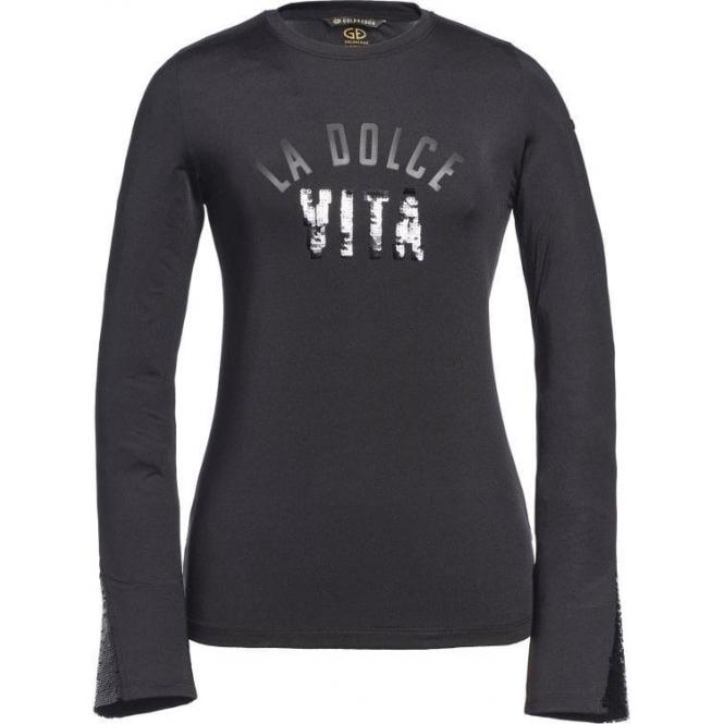 GOLDBERGH Vita Womens T-Shirt in Black