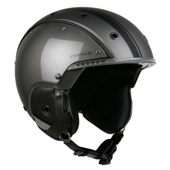 Indigo Core Ski Helmet in Titan Black
