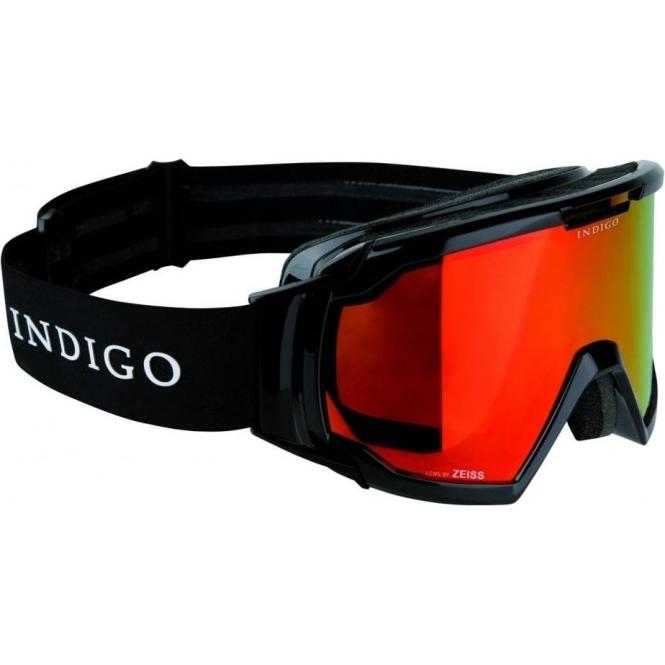 INDIGO Edge Polarized Photochromatic Snow Goggle in Black