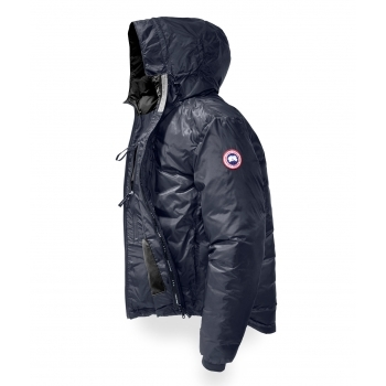 Canada Goose Lodge Hoody Mens Jacket in Blue Black