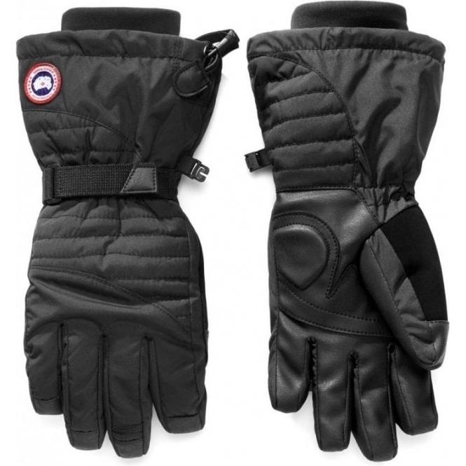 CANADA GOOSE Women Arctic Down Gloves in Black