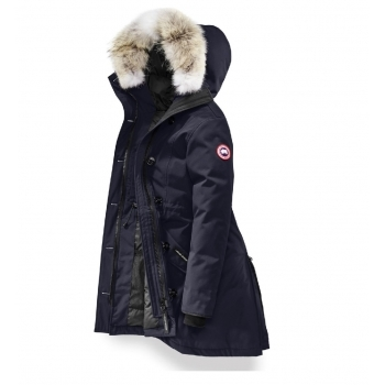 Canada Goose Ladies Rossclair Parka in Admiral Blue