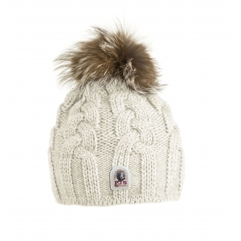 Parajumpers Cable Hat in Off white