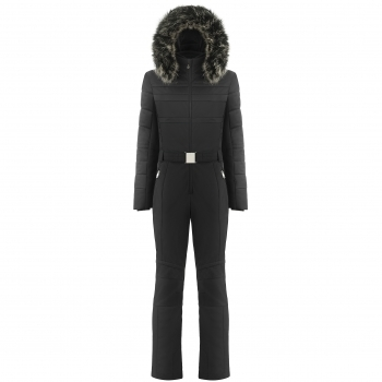 Poivre Blanc Anneka One Piece Womens Ski Suit In Black