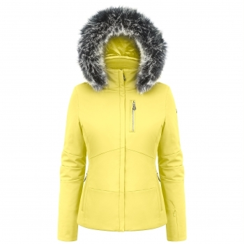 Poivre Blanc Ada Womens Ski Jacket in Empire Yellow
