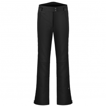 Poivre Blanc Stretch Fitted Ski Pants in Black