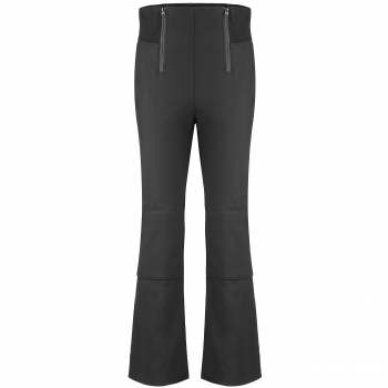 Poivre Blanc Womens Active Softshell Fitted Ski Pant in Black