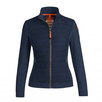 PARAJUMPERS Olivia Womens Knit Midlayer in Blue Black