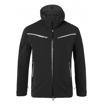 Kjus Formula Mens Ski Jacket in Black