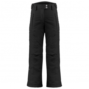 Poivre Blanc Girls Ski Pants in Black