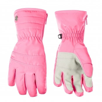 Poivre Blanc Girls Glove in Punch Pink