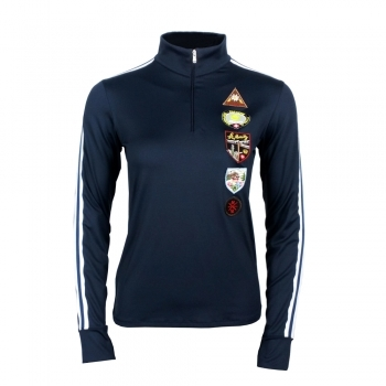 M. Miller M Miller Racer Womens Baselayer Top in Navy