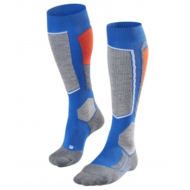 FALKE SK2 Mens Ski Socks in Cobalt