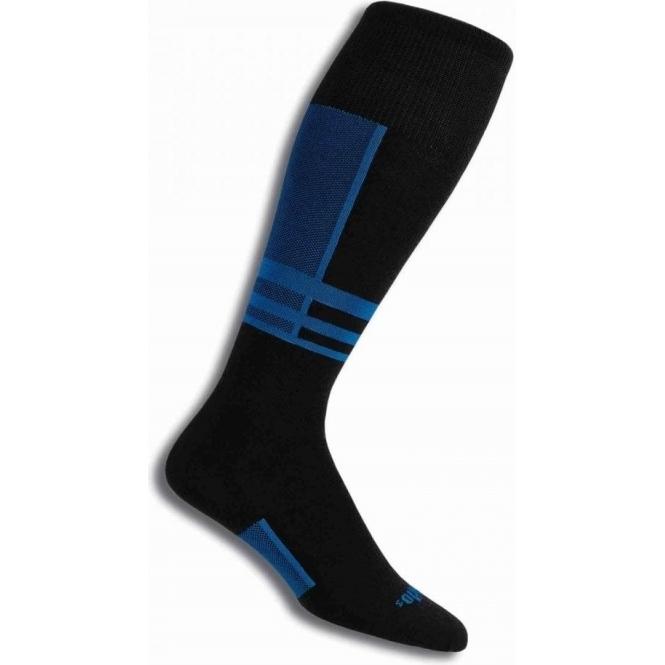 THORLO Thorlos S1TOU Ultra Thin Ski Sock In Laser Blue